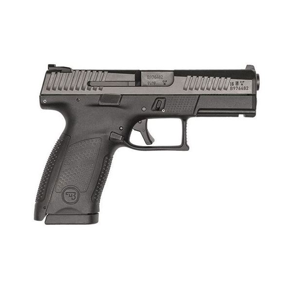 CZ P-10 C Black 9 mm 15 Rounds Compact 91520 P 10